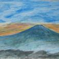 夕焼けの富士